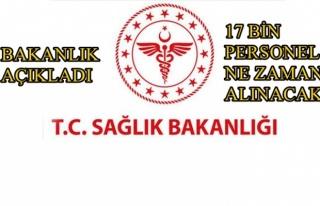 Sağlık Bakanlığı Personel Alımı Tarihini Açıkladı!