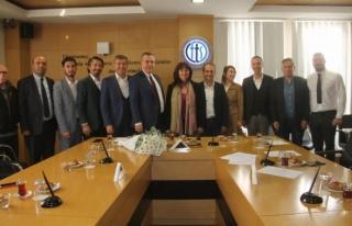 Yunanistan Başkonsolosu'ndan Fethiye Ziyareti