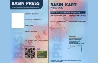685 Gazetecinin Basın Kartı İptal Edildi