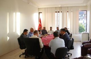 Ortaca Belediyesi'nde Müdürler Toplantısı