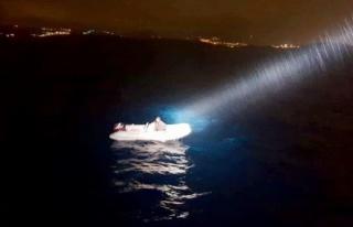 Yunan Adalarına Kaçarken Rotayı Şaşırdı