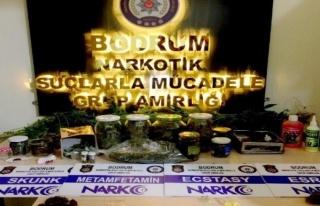 Bodrum'da Bir Süredir Aranan Zehir Taciri Yakalandı