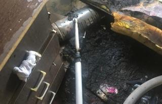 Bodrum'da Elektrik Sobasından Yangın Çıktı:...