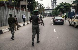 Nijerya'da Boko Haram'ın kontrolündeki bölge...
