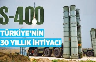 S-400'LER İLE KENDİ GÖKYÜZÜMÜZÜN GÜVENLİĞİ SAĞLANMIŞ OLACAK