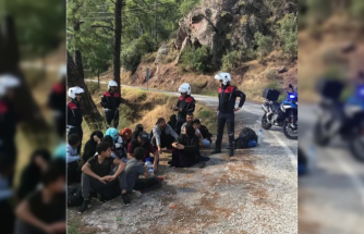 MARMARİS'TE 2 FARKLI NOKTADA 52 GÖÇMEN 2 ORGANİZATÖR YAKALANDI