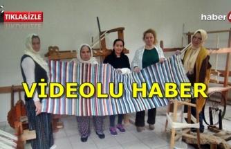 Fethiyeli 12 Kadın Dokumacılık Sanatını Yaşatıyor
