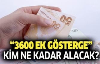 MERAKLA BEKLENEN 3600 EK GÖSTERGEDE SON DURUM