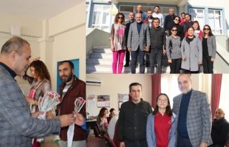 Başkan Alim Uzundemir, Okul Ziyaretlerine Devam Ediyor