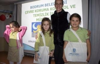 """Bodrum'da Çocuklara """"Çevri Bilinci"""" Aşılanıyor"""