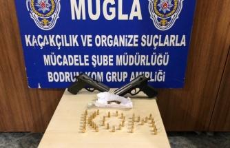 Bodrum'da Silah Kaçakçılığı Operasyonu!