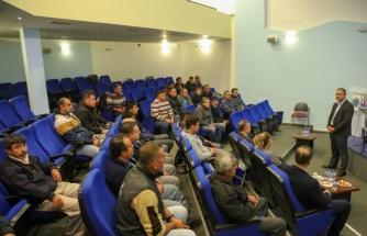Bodrum'da Temizlik İşleri Müdürlüğü Personeline Eğitim Verildi