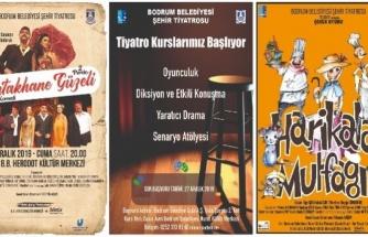 Bodrum'da Tiyatro Kursları Başlıyor