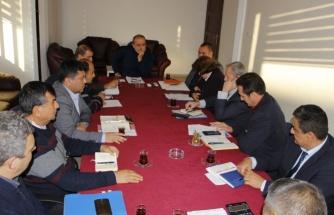 Ortaca Belediyesi'nde Haftalık İstişare Toplantısı Yapıldı