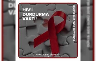 """""""Vakit HIV'i Durdurma vakti!"""""""