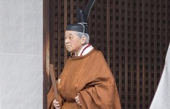 JAPONYA İMPARATORU TAHTI RESMEN BIRAKTI