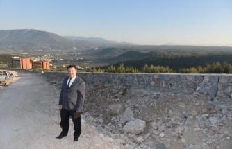 Başkan Tokat Yeni Hastane Yolunu İnceledi