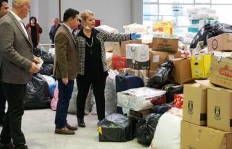 Bodrum'dan Elazığ'a Yardım Yağıyor