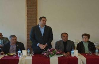 CHP Ortaca İlçe Başkanı Tezcan Muhtarlarla Bir Araya Geldi