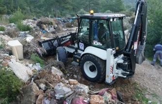 Doğaya Atılan 65 Ton Atık Bodrum Belediyesi Tarafından Topladı!