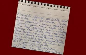 Elazığ'a Gönderilen Yardım Paketinde Duygulandıran Not