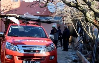 Kazan Dairesindeki Yangın Paniğe Neden Oldu!