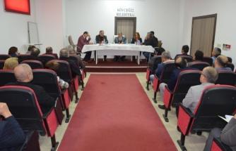 Köyceğiz Belediyesi Yılın İlk Toplantısını Gerçekleştirdi!