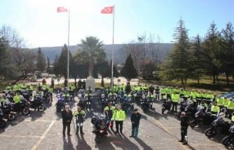 Motosiklet Timleri Sertifikalarını Alarak Göreve Başladı