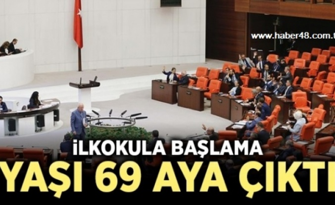 EĞİTİMDE YENİ DEĞİŞİKLİK: İLKOKULA BAŞLAMA YAŞI 69 AY