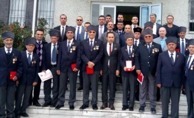 17 Kıbrıs Gazisine Milli Mücadele Madalyası Verildi