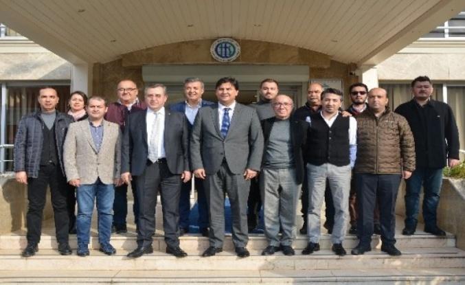 Başkan Alim Karaca'dan FTSO'ya Ziyaret