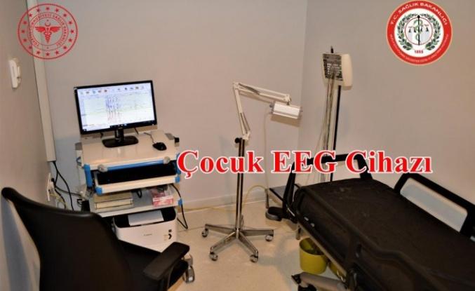 MSKÜ Hastanesi'nde Çocuk EEG Laboratuvarı Açıldı