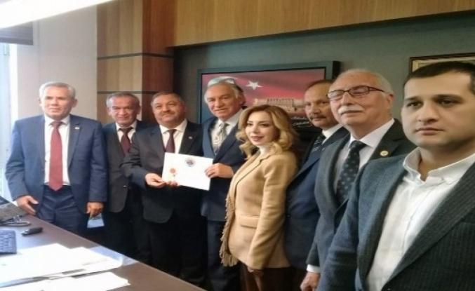 Muğla Ziraat Odaları Çiftçilerin Sorunları için Ankara'da