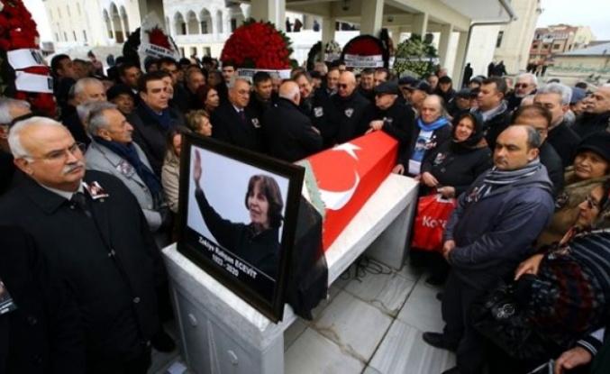 Rahşat Ecevit Devlet Mezarlığı'na Defnediliyor!