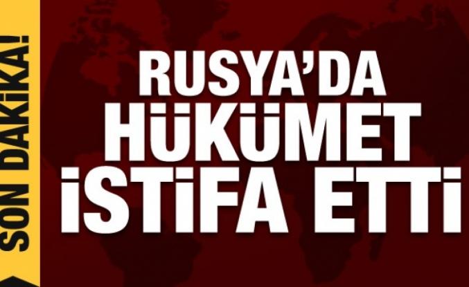 Son Dakika: Rusya'da Hükümet İstifa Etti!