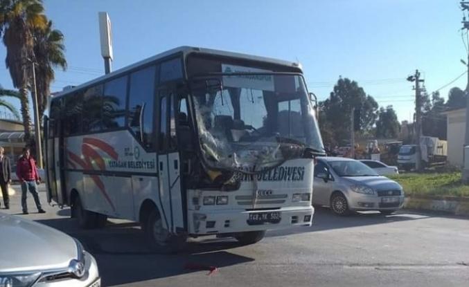 Yatağanspor Takım Otobüsü Kamyonla Çarpıştı!