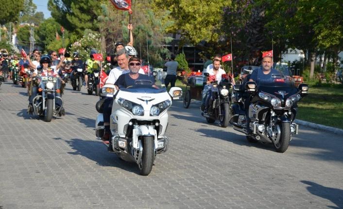 KÖYCEĞİZ'DE MOTOSİKLET FESTİVALİ