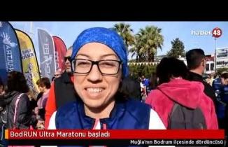 BodRUN Ultra Maratonu Başladı!