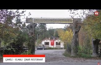 ÇAMELİ'DE YENİ BİR DURAK: ÇINAR RESTORAN