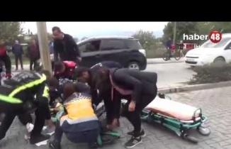 Fethiye'de 10 Yaşındaki Öğrenciye Otomobil Çarptı