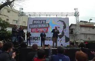 Behçet Saatcı, Ali Acar Seçim Bürosu Açılışında Konuşma Gerçekleştirdi